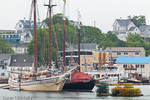 Tall Ships Heritage and Nathaniel Bowditch at the Boothbay Windjammer Festival, Boothbay, ME, USA