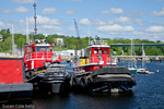 Penobscot Bay Tugboats in Belfast, ME, USA