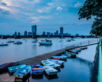 Dawn on the Charles River, Boston, Massachusetts, USA