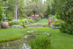 Thuya Garden in Northeast Harbor, Maine, USA