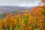 The view from Burke Mountain, Burke, Vermont, USA