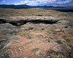 "WYOMING. USA. Name and date inscribed on Independence Rock by Oregon Trail traveler in 1850. ""H.P. BEMISS, JULY 4, 1850"". National Historic Landmark."