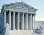 WASHINGTON, D.C. USA. Supreme Court Building. Capitol Hill.