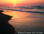 CAPE HATTERAS NATIONAL SEASHORE, NORTH CAROLINA. USA. Sunrise over the Atlantic Ocean. Outer Banks.