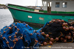 MARTINIQUE. French Antilles. West Indies. Fishing nets & boat at small town of Case-Pilote.