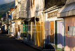 MARTINIQUE. French Antilles. West Indies. Street in St. Pierre.
