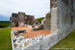 MARTINIQUE. French Antilles. West Indies. Ruins at Chateau Dubuc on the Caravelle Peninsula. The