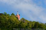 MARTINIQUE. French Antilles. West Indies. Caravelle Lighthouse on Caravelle Peninsula. Réserve Naturelle de la Caravelle.