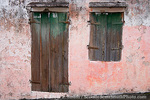 MARTINIQUE. French Antilles. West Indies. Exterior of building in St. Pierre.