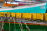 MARTINIQUE. French Antilles. West Indies. Fishing boats on beach at Anse Dufour.