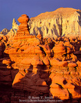 "GOBLIN VALLEY STATE PARK, UTAH. USA. Spires & eroded rock ""goblins"" in badlands. Entrada Formation of Jurassic age. Colorado Plateau."