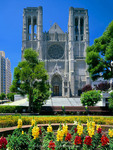 San Francisco, California. USA. Grace Cathedral. Nob Hill.
