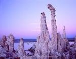 Mono Lake Reserve. California. USA. Tufa columns on south shore of Mono Lake.