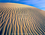 Nevada. USA. Ripples on sand dune. Little Humboldt River Valley near Winnumucca. Great Basin.