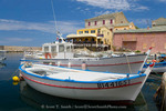 Corsica. France. Europe. Fishing boats at village of Centuri. Cap Corse.
