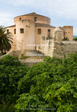Corsica. France. Europe. Citadel in town of St. Florent.
