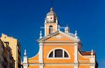 Corsica. France. Europe. Church in Ajaccio.