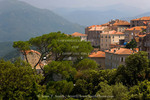 Corsica. France. Europe. Village of Sartene.
