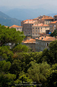 Corsica. France. Europe. Village of Sartene.
