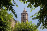 Corsica. France. Europe. Church in Sartene.