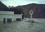 The Arkansas River in Flood