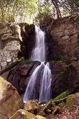 Baskins Creek Falls on Falls Branch