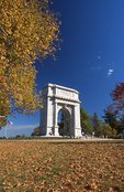 The National Memorial Arch (by Paul Philippe Cret, 1917)