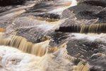 Manido Falls on the Presque Isle River