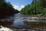 The Presque Isle River below Nawadeha Falls