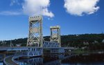 The Portage Lake Lift Bridge