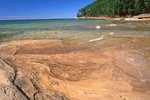 Bedrock at East Miners Beach, Lake Superior