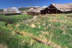 Old Ranch Buildings near the Sawatch Range
