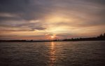 The Susitna River at Sunset