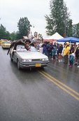 The Talkeetna Moose Dropping Festival Parade