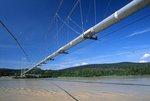 The Trans-Alaska Oil Pipeline Crossing the Tanana River