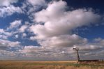 Clouds over the Oklahoma Panhandle