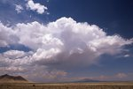 Clouds over the Chihuahuan Desert