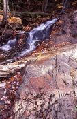 A Cascade over Rhyolite Formations on the Upper Carp River