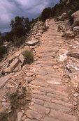 Original Paving Stones on the Upper Hermit Trail