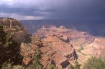 A Rainstorm at the Grand Canyon