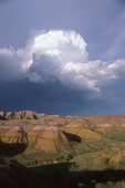Storm Clouds over the White River Badlands