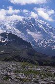 Mount Rainier from Skyscraper Pass on the Wonderland Trail
