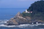 The Heceta Head Light on the Oregon Coast