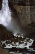 The Base of Nevada Falls