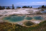 In the West Thumb Geyser Basin