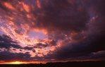 An Autumn Sunset in Northern Illinois