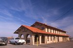 The Southern Pacific Railroad Depot in Vaughn, New Mexico