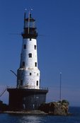 The Rock of Ages Lighthouse (1908) in Lake Superior