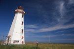 The North Point Light (1867) on Northumberland Strait