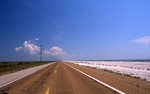 A Lonely Highway on the Louisiana Gulf Coast